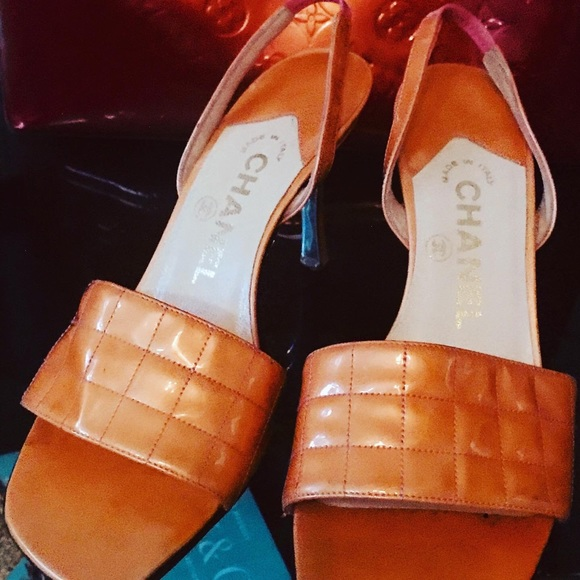 Shoes - Chanel Heels Size 8 Narrow fit